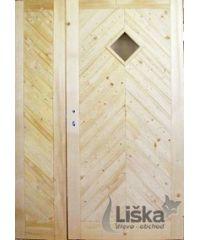 Palubkové dveře dvoukřídlé